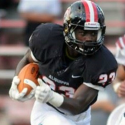 Aliquippa tailback and Pitt/WVU prospect Kaezon Pugh ran for two touchdowns in Week 4.